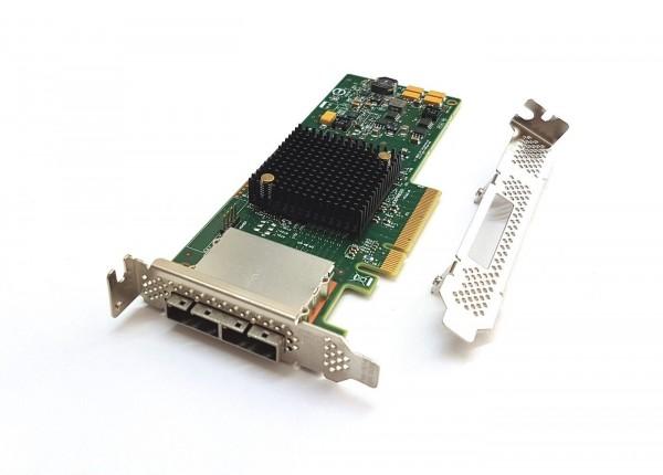 Avago LSI SAS 9207-8e SATA / SAS HBA 8port Controller extern 6Gbps PCIe x8 3.0