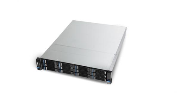 2HE Chenbro RM24512 Low Profile Rack Server Gehäuse inkl 12G mSAS Expander BP/ 550W redundant 80+ G