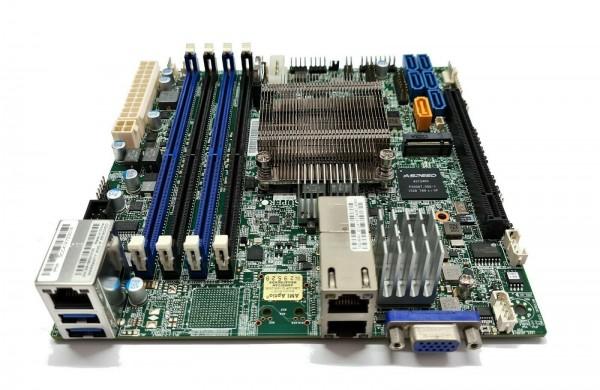 Supermicro X10SDV-4C-TLN2F Xeon D-1520 PCIe x16 10Gbe m.2 IPMI ITX DDR4 Server passiv