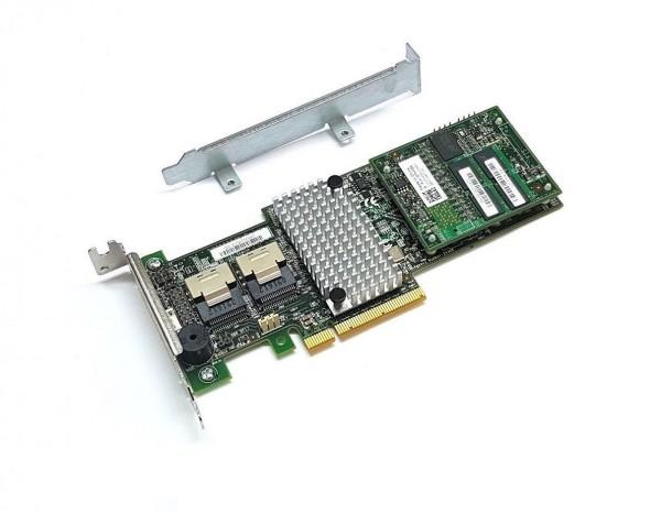 Avago LSI Megaraid SAS 9265-8i SATA / SAS 1GB Controller RAID 5 6G PCIe x8