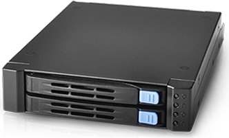 "Chenbro Storage Kit SK512 SK51201 2-in-1 2,5"" SATA 12G HDD Rahmen Hot Swap Tray"