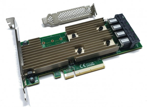 Broadcom LSI 9305-16i SATA / SAS HBA Controller RAID 12Gbps PCIe x8 Avago IT FW