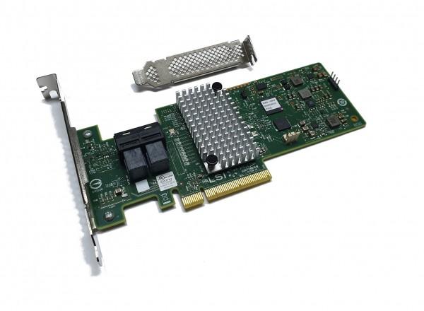 IBM Lenovo M1215 SATA / SAS HBA Controller RAID 12Gbps PCIe x8 Avago LSI 9341-8i